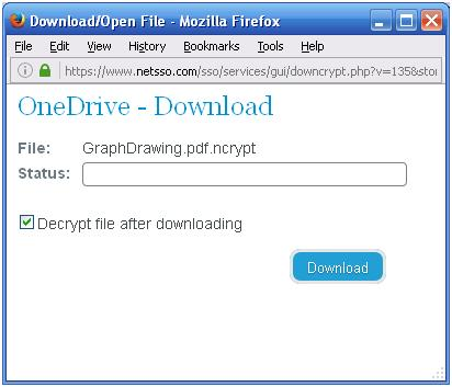 Downloading File without Telecryptor