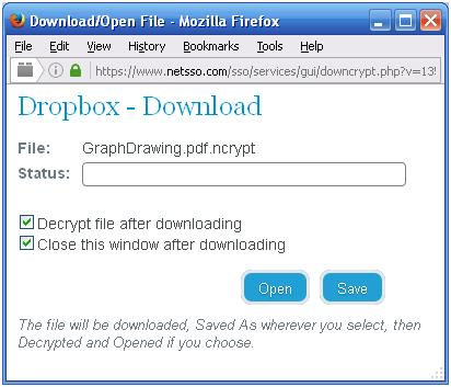 Downloading File with Telecryptor
